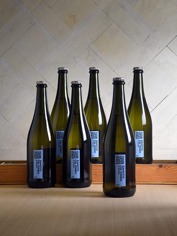 Zanotto col fondo 2014 - box 6 bottiglie